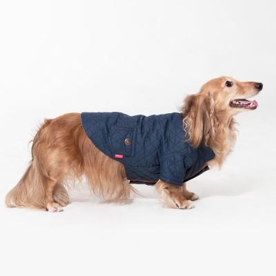 퀼팅 재킷(네이비)
