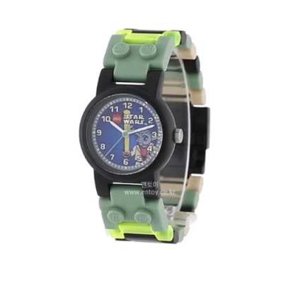 [레고시계] 스타워즈 요다 손목시계