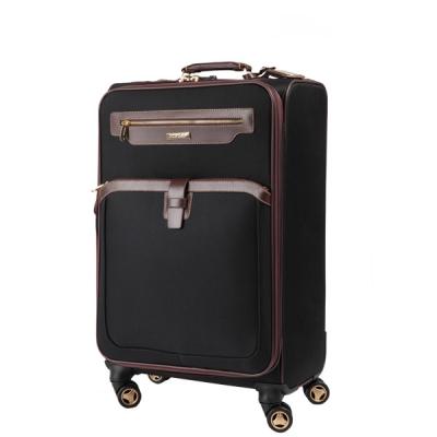 [던롭] NEW F107 24인치 블랙 화물용 소프트케이스 여행가방 캐리어