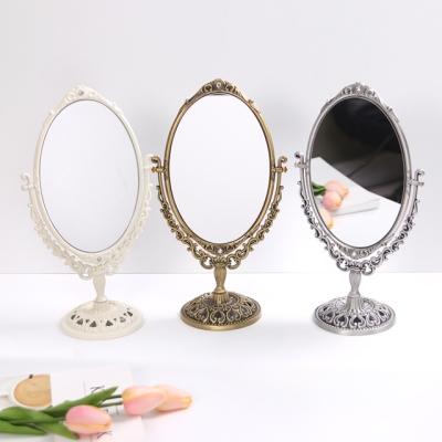 엔티크 큐빅 타원 거울