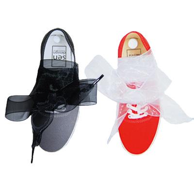 PP CLASSIC  SHOELACE - CHIFFON ( 쉬폰 신발끈 )