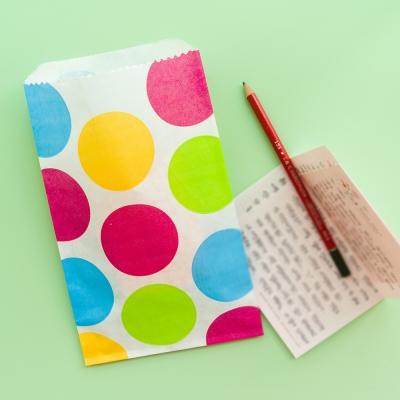 Confetti dots - Favor bag (1pack:5bags)