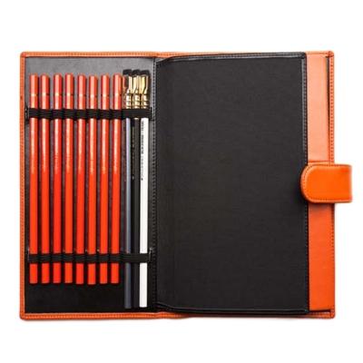 Palomino Orange Luxury Sketchbook & Folio