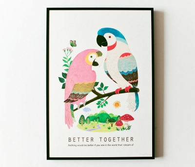 Better together poster (A3액자포함)