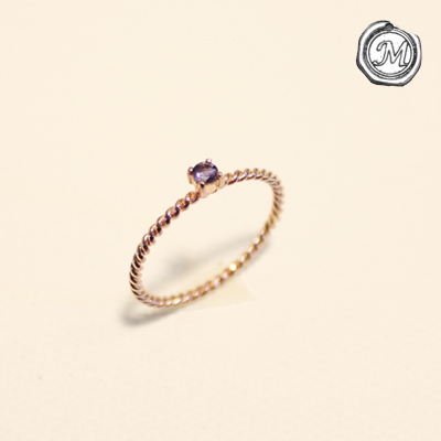 [마벨비] iolite petit ring