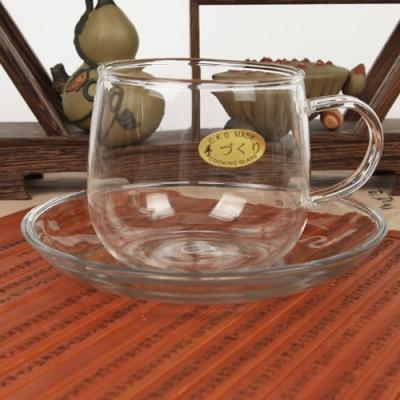 [유리잔]유리 잔받침 세트 200ml (CK-125AB)-커피,홍차_(10339669)