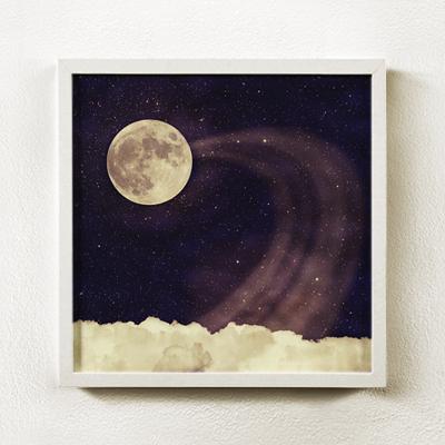 Vintage moon sky2 빈티지 문 스카이2 _액자포함