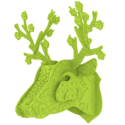 Color Trophy Deer-Lime