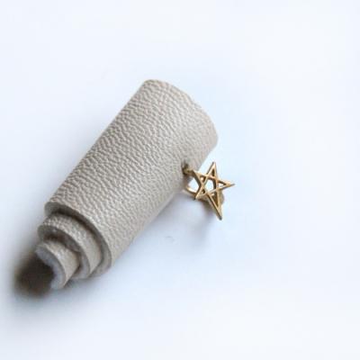 10k gold star ring earring