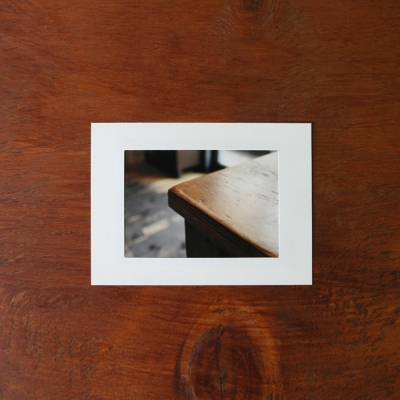 3x5 PHOTO FRAME (WHITE)