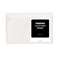 폴라로이드 700film 투명스티커(6매입)