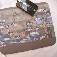 artwork mousepad -library