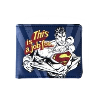 Superman Wallet In A Tin - 'This is a Job For…'