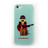 [EPICASE] Art case for iPhone5/5S, Street Musician Barcelona
