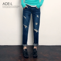feet damage denim pt / ��Ʈ ������ ���� ����_(406298)