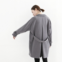 boxy double coat
