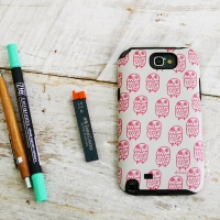 [duboo] Owl Galaxy Note2 Case