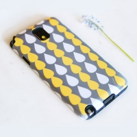 [duboo] Drops Grey Galaxy Note3 Case