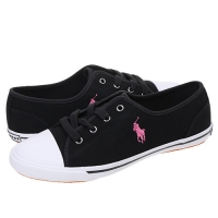 ���(POLO) BABSON GORE BLACK/PINK PONY(womens) 999820KGA-W