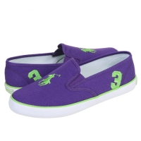 ���(POLO) SERENA PURPLE-GREEN CANVAS(womens) 999880GA-W