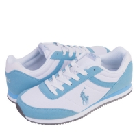 ���(POLO) DART WHITE/SKYBLUE(womens) 999833GA-W