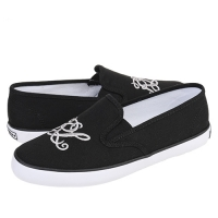 ���(POLO) SERENA MENSHEIM R/L BLACK CANVAS(womens) 999807GA-W