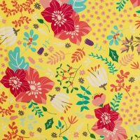 Full Bloom pattern cotton