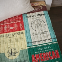 Premium_The barber of siberia Vintage Big cut Linen Quilting
