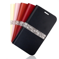 [FOX]CIENNE Leather Flip Case(������S5)