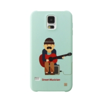 [EPICASE] Art case for GalaxyS5, Street musician Barcelona