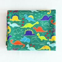 Jurassic Prak illust pattern washing cotton