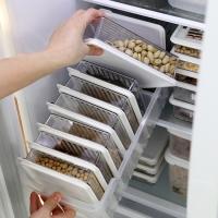센스 냉장고정리 고급형A (트레이 대1개 + 소분용기 8p)