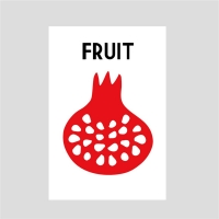 열매엽서-석류