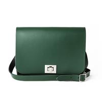 Racing Green Medium Pixie Bag