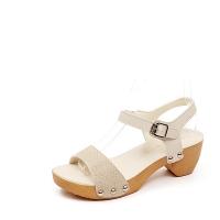 Snake Simpe Sandal 5cm_14S02