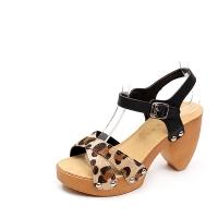 Chic Pattern Sandal 9cm_14s09