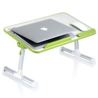 HICKIES 베드트레이 각도및 높이조절 쿨링팬기능 노트북 테이블