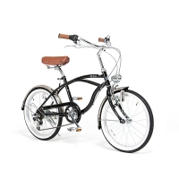 JIKE CRUISER Mini Beach Cruiser 20 Black