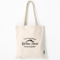 [옐로우스톤] 빈티지 에코백 eco bag - ys2015ft 베이지 폰트