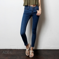 apron denim skinny / �������� ���� ����_(701552)