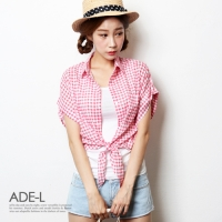 mini check shirts / �̴� üũ ����_(701827)