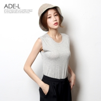 soft basic sleeveless / ����Ʈ ������ �μҸ�Ƽ����_(710811)