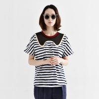 wave stripe tee