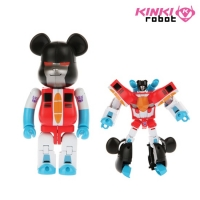 [KINKI ROBOT][�����Ǹ�] 200% BEARBRICK TRANSFORMERS STARSCREAM