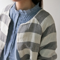 Loft linen stripe jacket