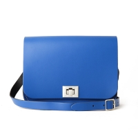 Oxford Blue Medium Pixie Bag