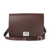 Chocolate Brown Medium Pixie Bag