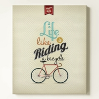 Ÿ���� ĵ���� ���� Life is like riding a bicycle