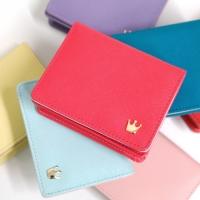 Crown mini wallet