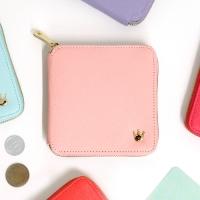 Crown zipper wallet